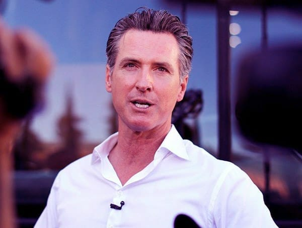 Image of Governor of California, Gavin Newsom