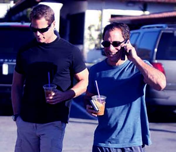 Image of Harvey Levin with his boyfriend Andy Mauer