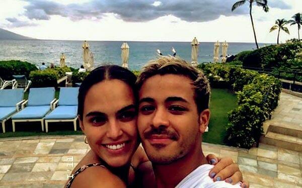 Image of Christian Navarro with his girlfriend Kassidy Ramirez