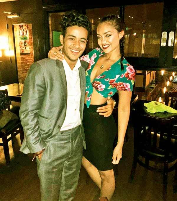 Image of Christian Navarro with his former girlfriend Shazi Raja