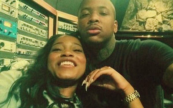 Image of Keke Brown dated rapper YG