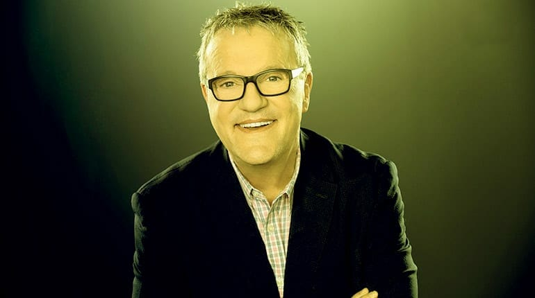Image of Is Mark Lowry Gay. Is he married to a wife/partner or dating anyone. His dating life and relationship details.