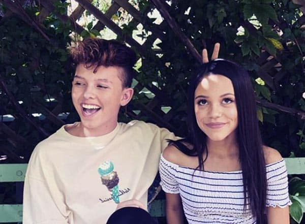 Image of Jacob rumored girlfriend Jenna Ortega