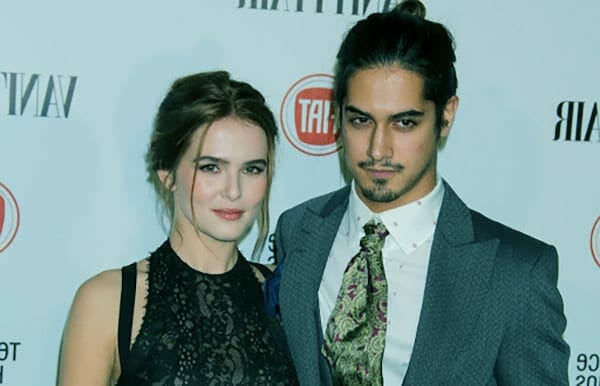 Image of Avan Jogia previous dated with Zoey Deutch