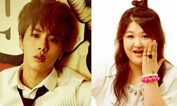 Image of BTS Jin and Lee Guk Joo