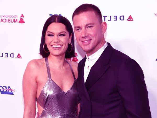 Image of Channing Tatum dating with Jessie J