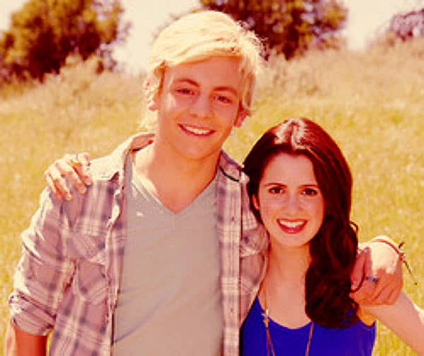 Image of Ross Lynch with Laura Marano