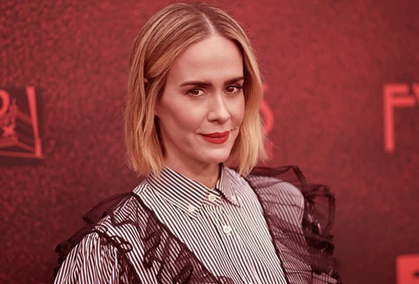 Image of American actress, Sarah Paulson