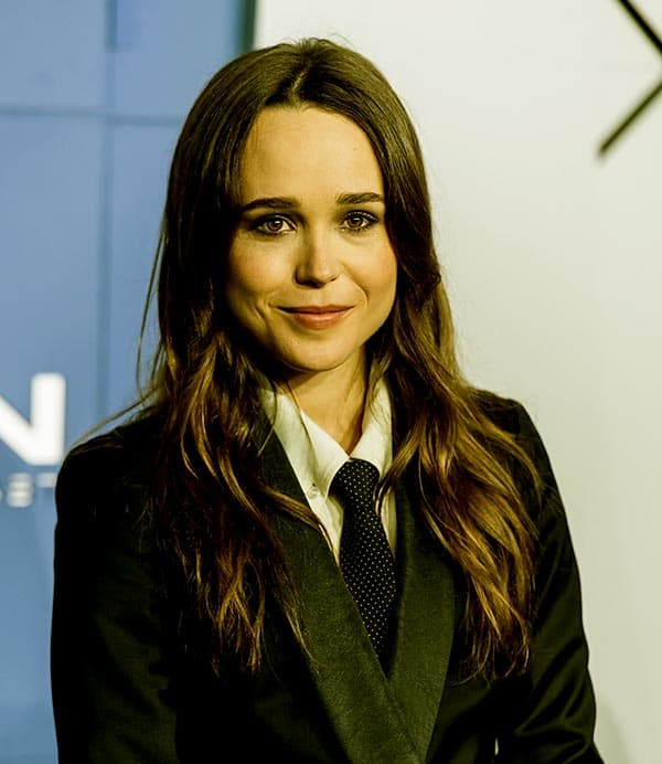 Image of Canadian actress, Ellen Page