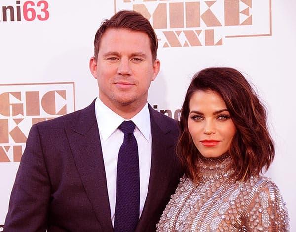 Image of Channing Tatum with ex-wife Jenna Dewan